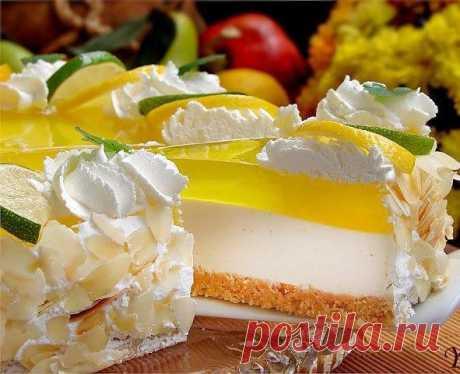 Лимонный чизкейк.