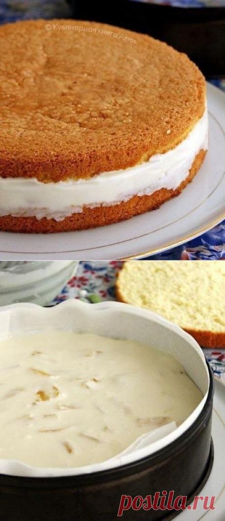 Торт с нежнейшим творожным кремом.   Школа красоты