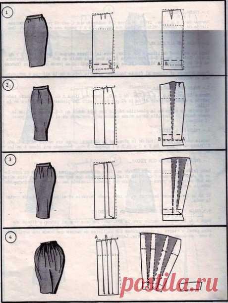 37 ways to sew a skirt.\u000a\u000aHostesses, keep to yourself, it is useful.