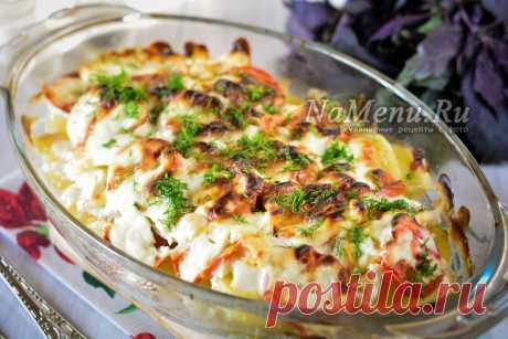 Картофель по-французски в духовке - рецепт с фото со свининой в сметане