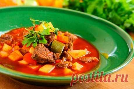 Суп бограч рецепт по венгерски – пошаговый рецепт с фото.