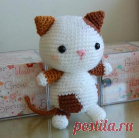 Котенок амигуруми | 1000 схем амигуруми на русском