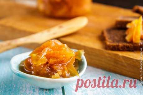 Варенье из яблок с апельсинами | Кулинарные заметки Алексея Онегина