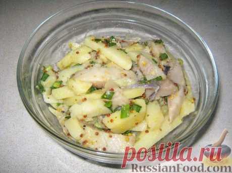 Рецепт: Салат селедочный