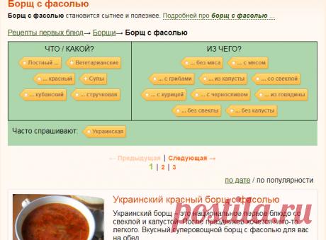 Борщ с фасолью, рецепты с фото на RussianFood.com: 92 рецепта борща с фасолью