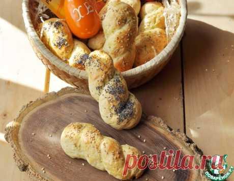 """Греческое пасхальное печенье """"Кулуракья"""" – кулинарный рецепт"""