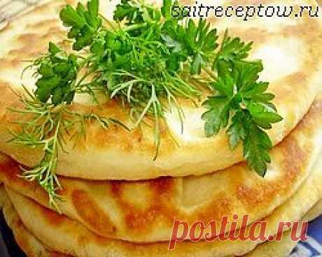 Хачапури с сыром на сковороде. | Сайт рецептов
