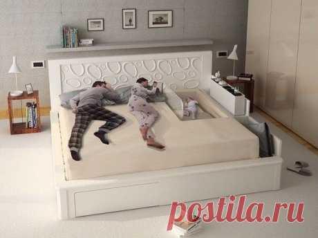 Кто хотел бы такую семейную кровать?