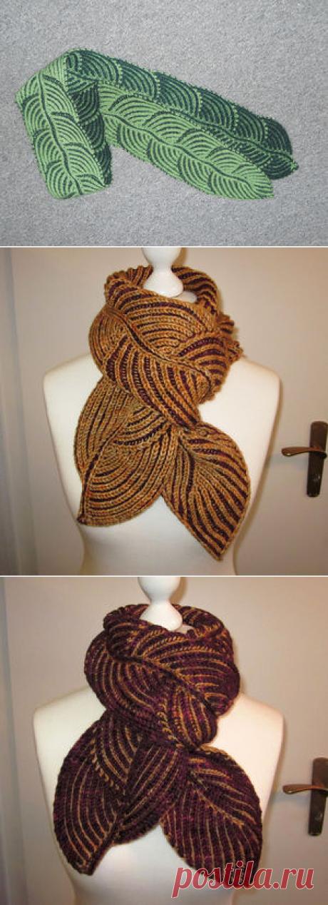 Вязание-спицы Шали+шапки+шарфы >Шарфики