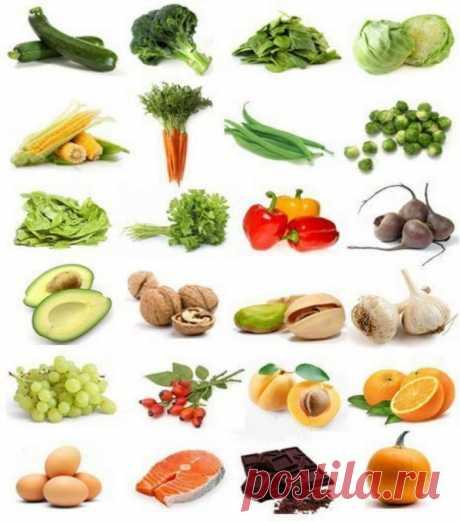 Продукты, которые помогут сохранить зрение на долгие годы / Будьте здоровы