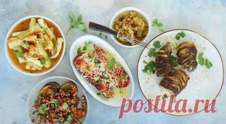 5 классических блюд из баклажанов