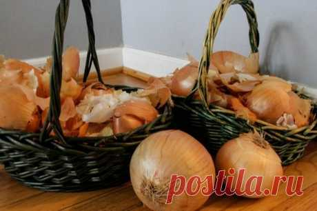 Advantage of an onions peel
