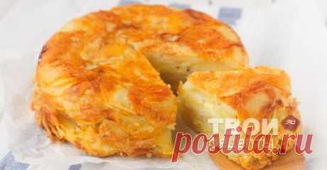 """Картофельная запеканка с сыром - вкусный рецепт с пошаговым фото. Рецепт """"Картофельная запеканка с сыром"""" готов, приятного аппетита ;)"""