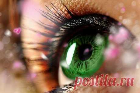Радужка глаза - экран вашего здоровья » Женский Мир