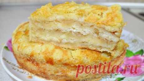 Насыпной яблочный пирог — нежный и сочный - Кейс советов