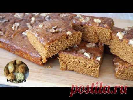 МЕДОВАЯ КОВРИЖКА ПОСТНАЯ/Russian Honey Gingerbread