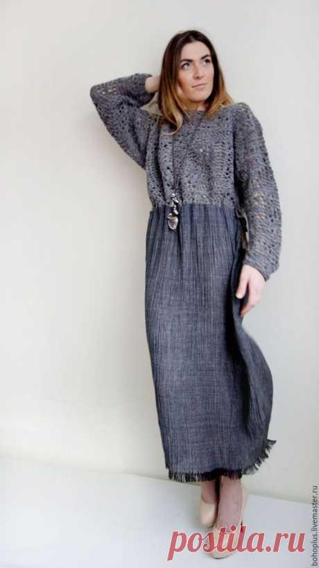 Платья ручной работы. Платье в стиле бохо