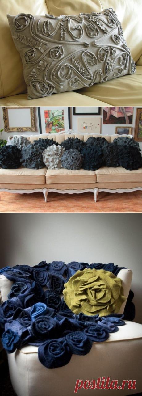 Из ненужного в нужное. Часть 1: идеи использования старого трикотажа - Ярмарка Мастеров - ручная работа, handmade