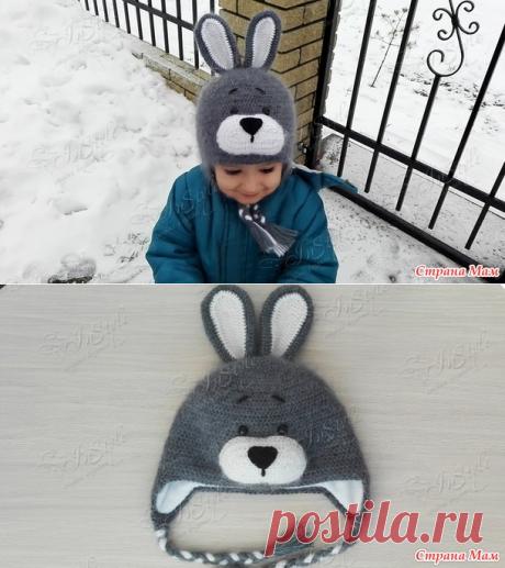 . Шапочка Зайчик - Вязание - Страна Мам