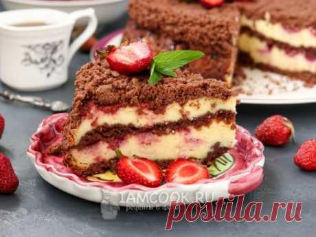 Творожный пирог в духовке — подборка рецептов с фото и видео