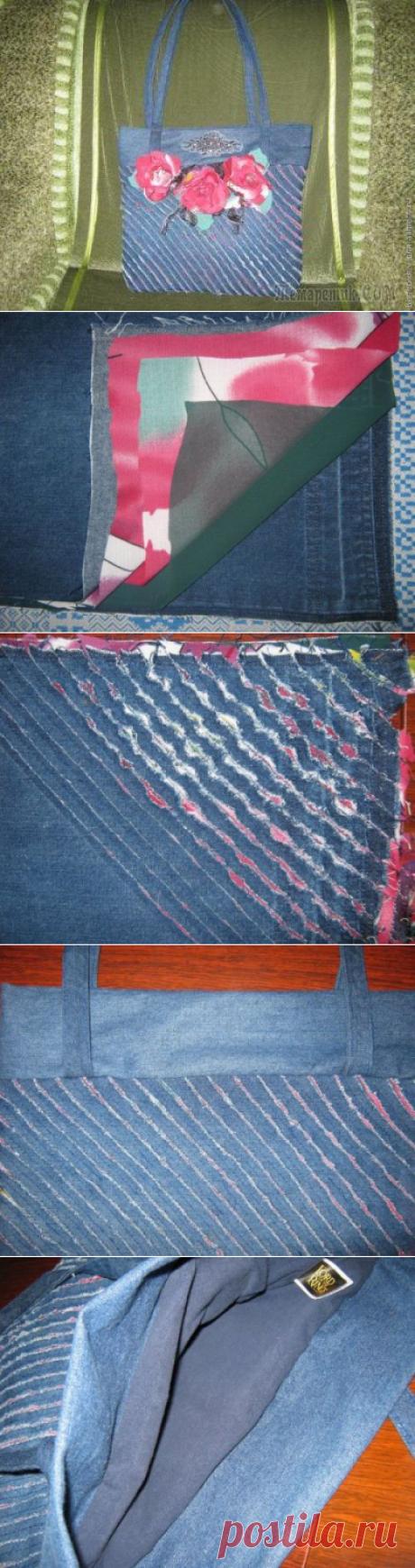 Мастер-класс сумочки в стиле «Синель»