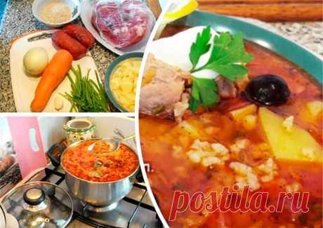 La sopa del jarchó - la receta de la preparación en las condiciones de casa