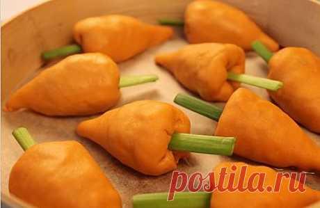 Манты - морковки..