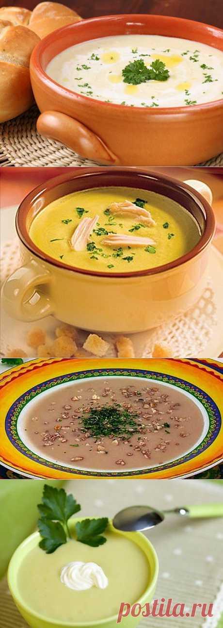 Супы-пюре из фасоли: 8 рецептов / Простые рецепты