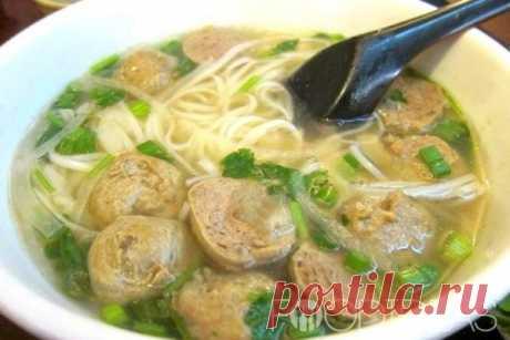 Суп-лапша с фрикадельками - рецепт приготовления с фото