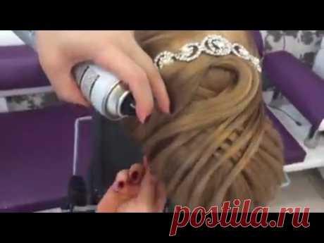 Gelin ve Nişan Saçı Topuz Modeli Çalışmaları 2017