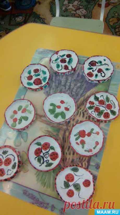 Мастер-класс «Изготовление тарелки из глины». Воспитателям детских садов, школьным учителям и педагогам - Маам.ру