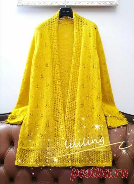 [Fang Fei Spring] Shui Pei Feng Chang повседневный кардиган без цветов (с инструкциями по вязанию и иллюстрациями) _Bang иглы бутик будет выбран областью_Knitting life forum-