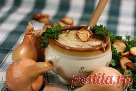 Луковый суп для похудения. Секрет стройных француженок.