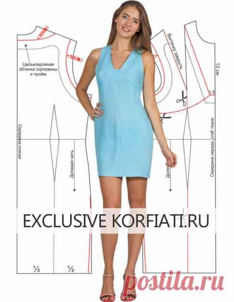 Шьем очаровательное платье из льна по простой выкройке!  https://korfiati.ru/2010/07/biryuzovoe-plate-iz-lna-kak-smodelir/  Это яркое льняное платье — настоящая находка для стройных высоких женщин, ведь у этой модели очень много достоинств, — глубокий вырез, мини-длина, приталенный силуэт, и самое приятное — платье сшито из натурального льна, который даже в самый жаркий день дарит ощущение прохлады. Сшить эту модель достаточно просто, но для начала необходимо построить Вык...