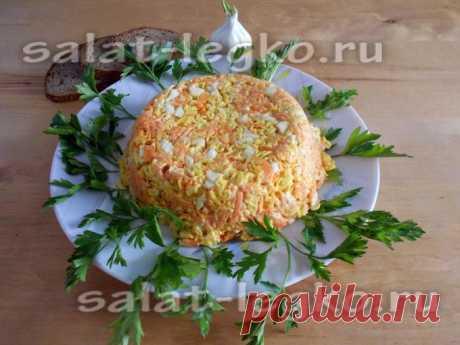Салат из вермишели быстрого приготовления: рецепт