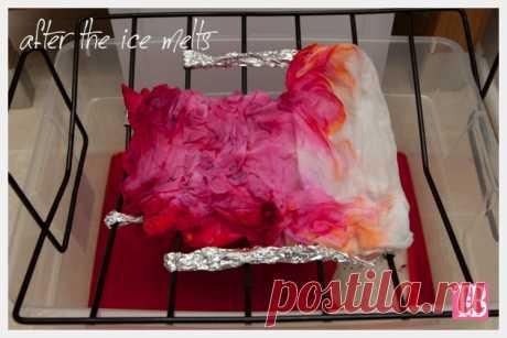 Как с помощью краски создать «тающий» рисунок на одежде — Рукоделие