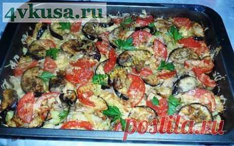 Картофель запеченный с беконом и овощами | 4vkusa.ru