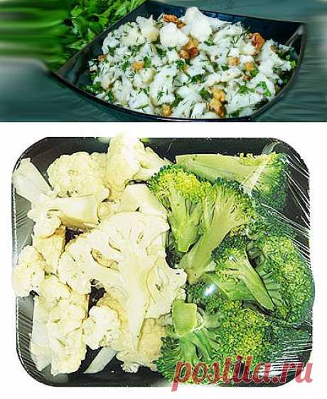 Салат из цветной капусты Минутное дело   Путь к себе