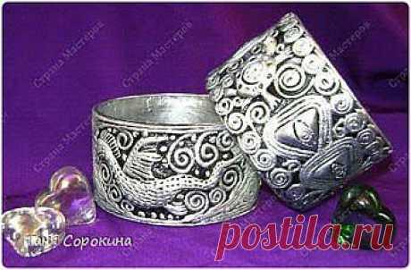 Серебряный браслет с драконом своими руками