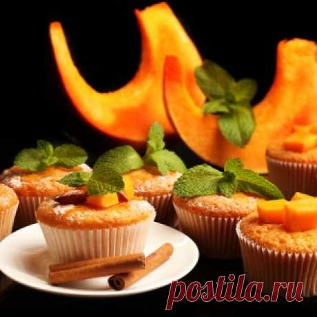 Тыквенные кексы: рецепт десерта