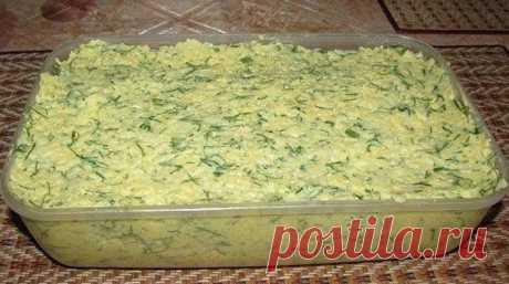 Сырное масло простой и вкусный рецепт