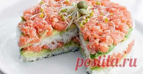 Салат а-ля суши — Фактор Вкуса