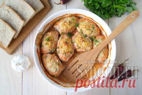 Ленивые голубцы: рецепт с рисом и фаршем в духовке | 8 Ложек