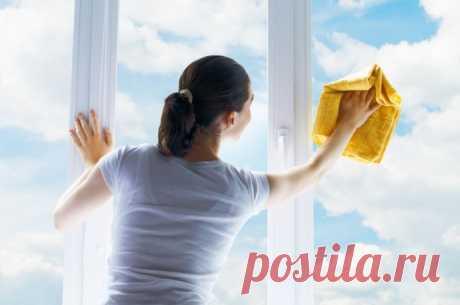 Специальный раствор для сохранения чистоты окон надолго — Полезные советы