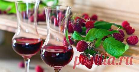 Вино, ликер и настойка из малины – 6 проверенных рецептов Новый дачный сезон – самое время поэкспериментировать с напитками из любимых ягод.