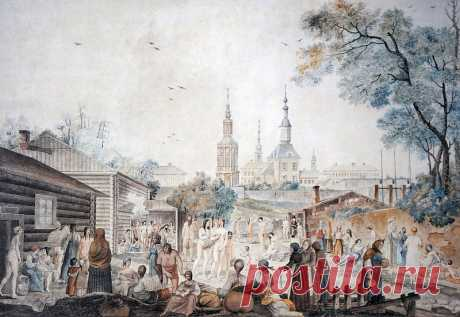 Махальщицы в русских банях: чем они занимались