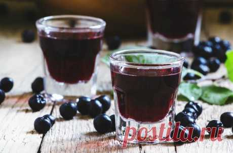Наливка из черной смородины на спирту. | Олег Карп | Яндекс Дзен