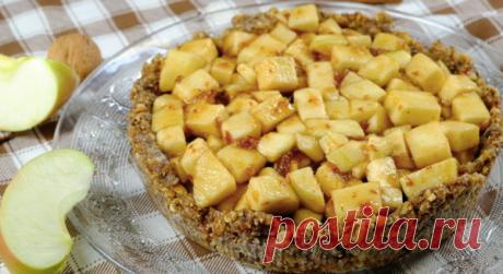 Постный яблочный тарт без муки, масла и яиц: видео рецепт и пошаговые фото | Fresh Recipes | Яндекс Дзен