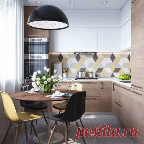 Уютная кухня: 5 идей и примеров для вдохновения   Дневник архитектора   Яндекс Дзен