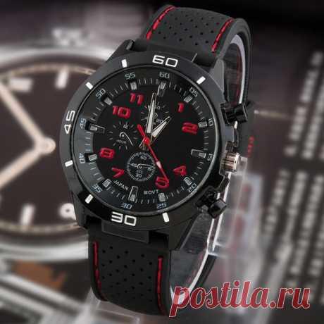 2016 новый свободного покроя кварцевые часы мужчины военный часы наручные спорт прямая поставка силиконовый часы мода часов купить на AliExpress